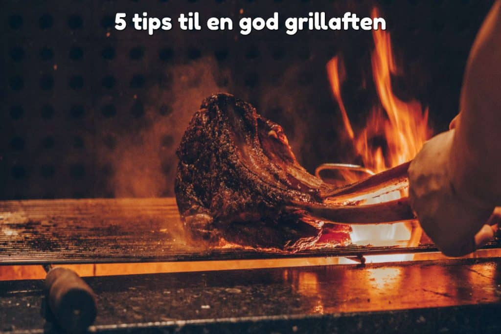 5 tips til en god grillaften